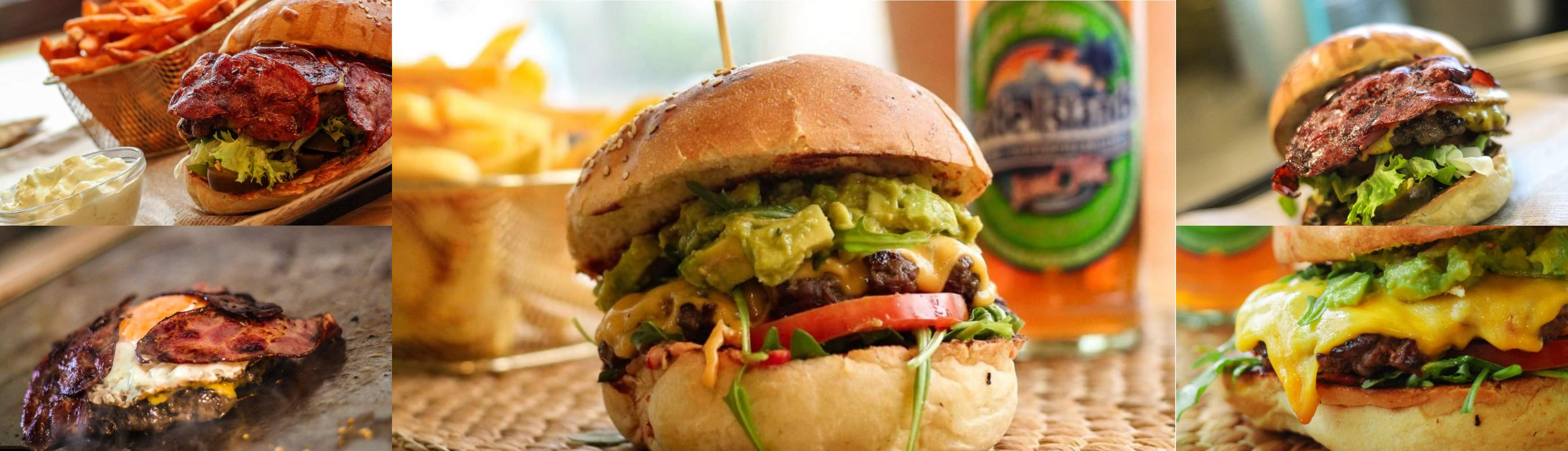 Burger-collage